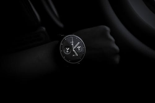 Person Showing Watch