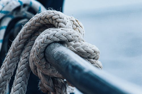 Kostnadsfri bild av däck, knut, rep