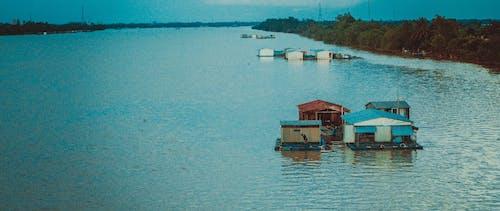 베트남, 보트하우스의 무료 스톡 사진