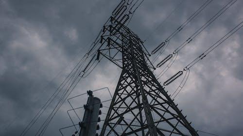 구름, 낮, 야외, 전기의 무료 스톡 사진