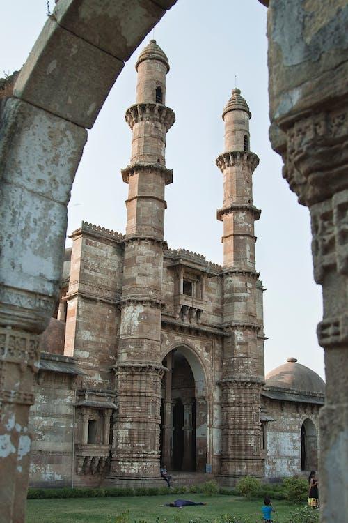 Бесплатное стоковое фото с mnars, Архитектурный, индия, исламская архитектура
