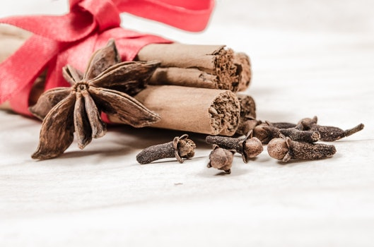 Free stock photo of red, winter, spices, decoration