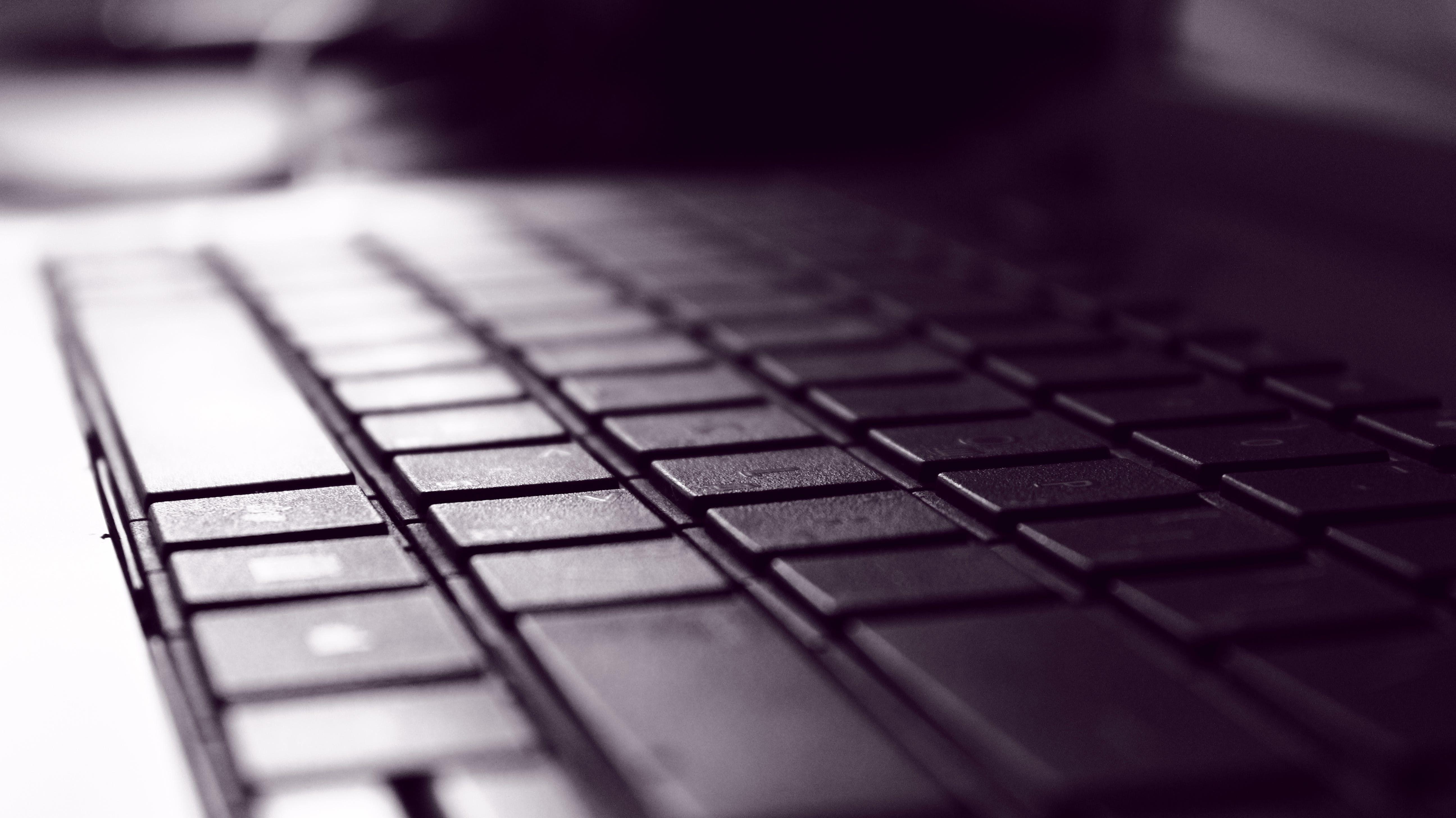 Computer Keyboard on Close Up Photography