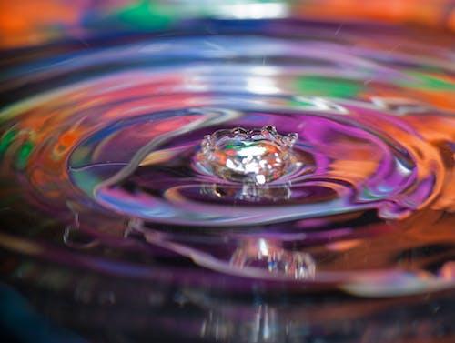 Ilmainen kuvapankkikuva tunnisteilla pitkä valotus, vesi, vesirenkaat, vettä