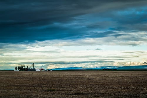 Free stock photo of farm, Storm Clouds, wheat field