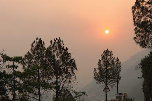 Gratis lagerfoto af landskabsfotografering, morgensol, smukt landskab, solopgang