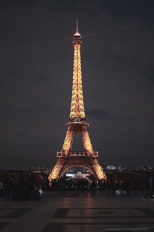Kostnadsfri bild av arkitektur, Eiffeltornet, frankrike, landmärke