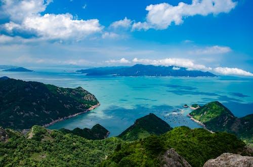 Základová fotografie zdarma na téma 天空, 沿海, 海灣