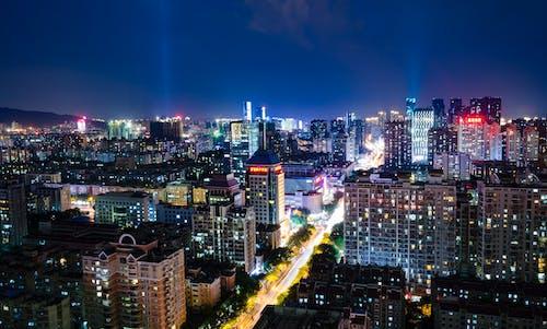 Ingyenes stockfotó 4k-háttérkép, belváros, drónfelvétel, drónfotózás témában