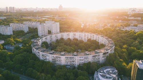 Základová fotografie zdarma na téma amfiteátr, architektura, budova, cestování