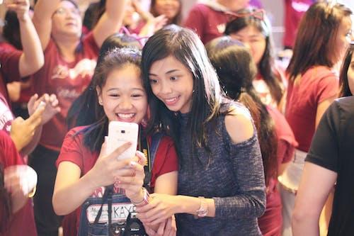 Free stock photo of fan, happy, Maymay Entrata, selfie