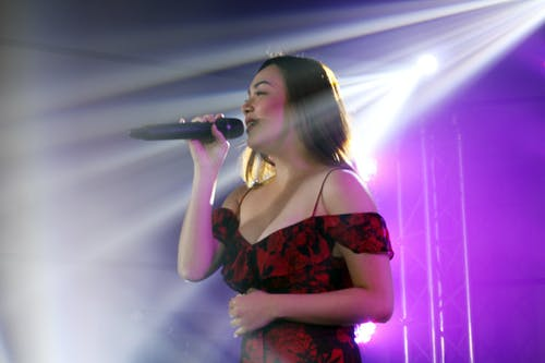 Free stock photo of live performance, Meg Imperial, singing