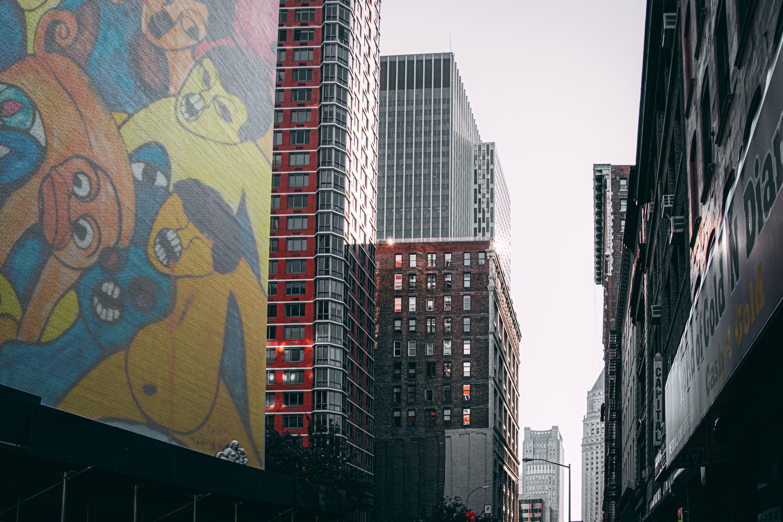 Δωρεάν στοκ φωτογραφιών με 4k ταπετσαρία, manhattan, nyc, απεικόνιση