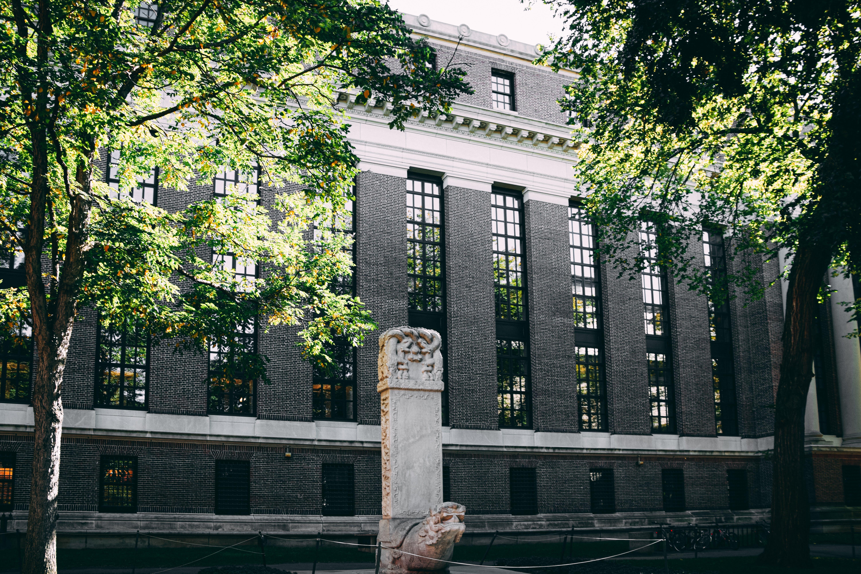 Δωρεάν στοκ φωτογραφιών με harvard, άγαλμα, αρχιτεκτονική, αρχιτεκτονικός