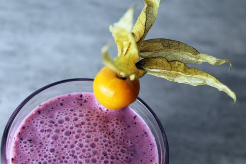 Fruit On A Smoothie