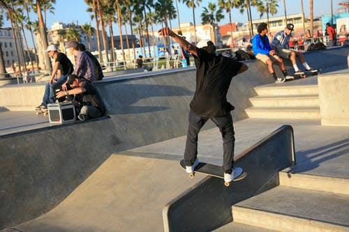 Free stock photo of california, skateboarder, skateboarding, skatepark