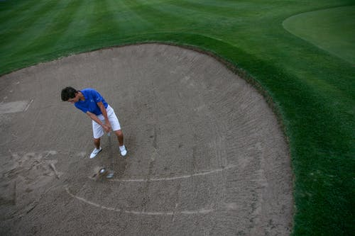 Free stock photo of bunker, golf, golf club, golf course
