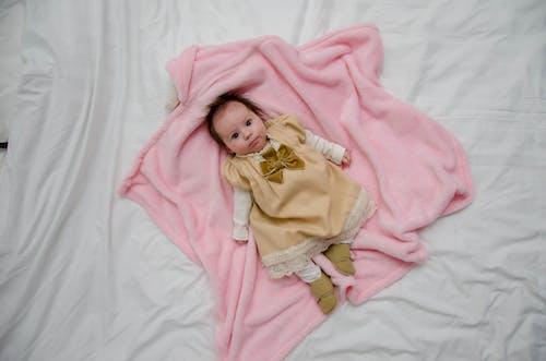 คลังภาพถ่ายฟรี ของ ความไร้เดียงสา, ทารก, น้อย, น่ารัก