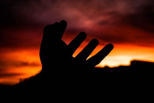 Ingyenes stockfotó ég, piros ég, por do sol, sol témában