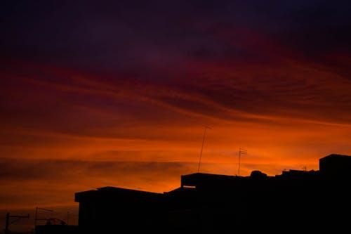 Ingyenes stockfotó ég, fényképész, fényképészet, piros témában