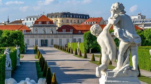 Ilmainen kuvapankkikuva tunnisteilla belvedere, patsas, puutarha, wien