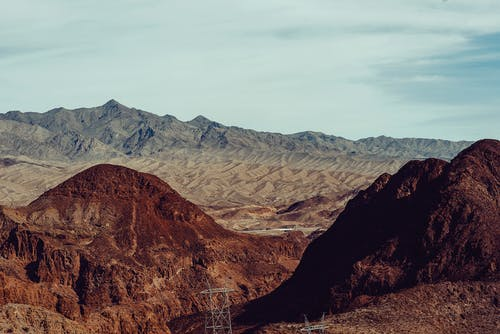 Free stock photo of canyon, desert, nevada, road trip