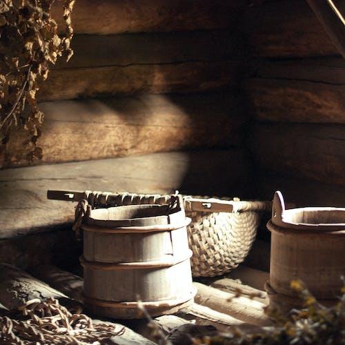 Darmowe zdjęcie z galerii z antyczny, chata, dom, drewniany