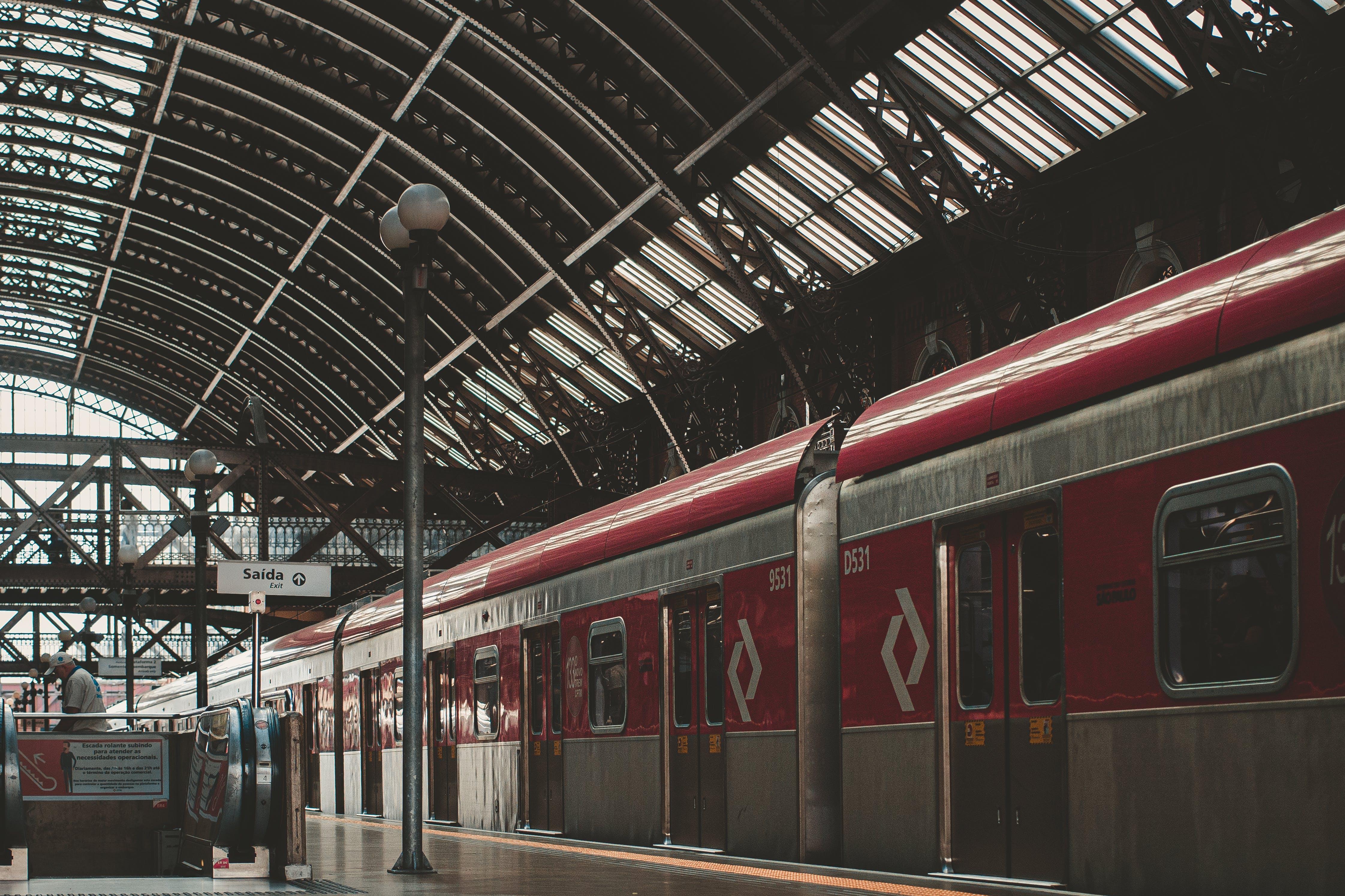 Imagine de stoc gratuită din afaceri, antrena, călătorie, cale ferată