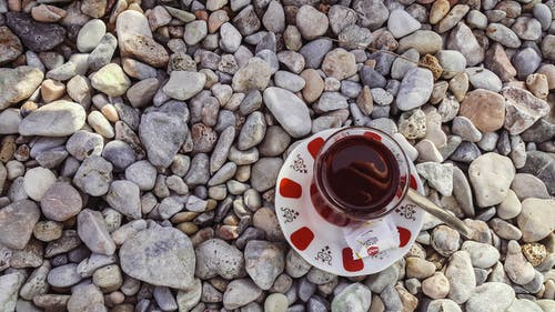 Free stock photo of tea at the beach