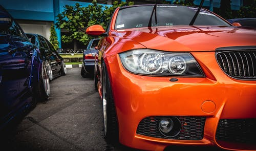 Orange Bmw M Series