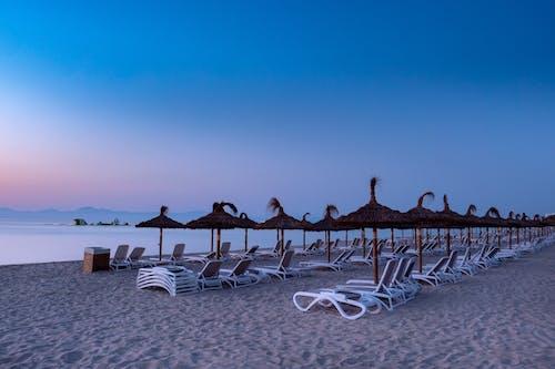 Бесплатное стоковое фото с восход, закат, море, морской берег