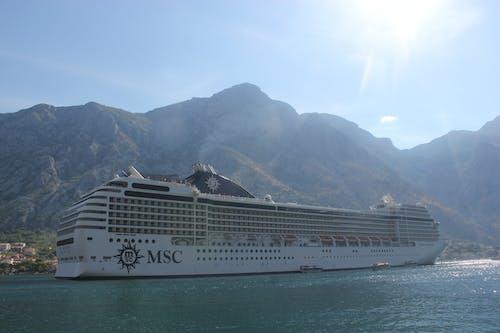 Free stock photo of adriatic sea, cruiser, kotor bay