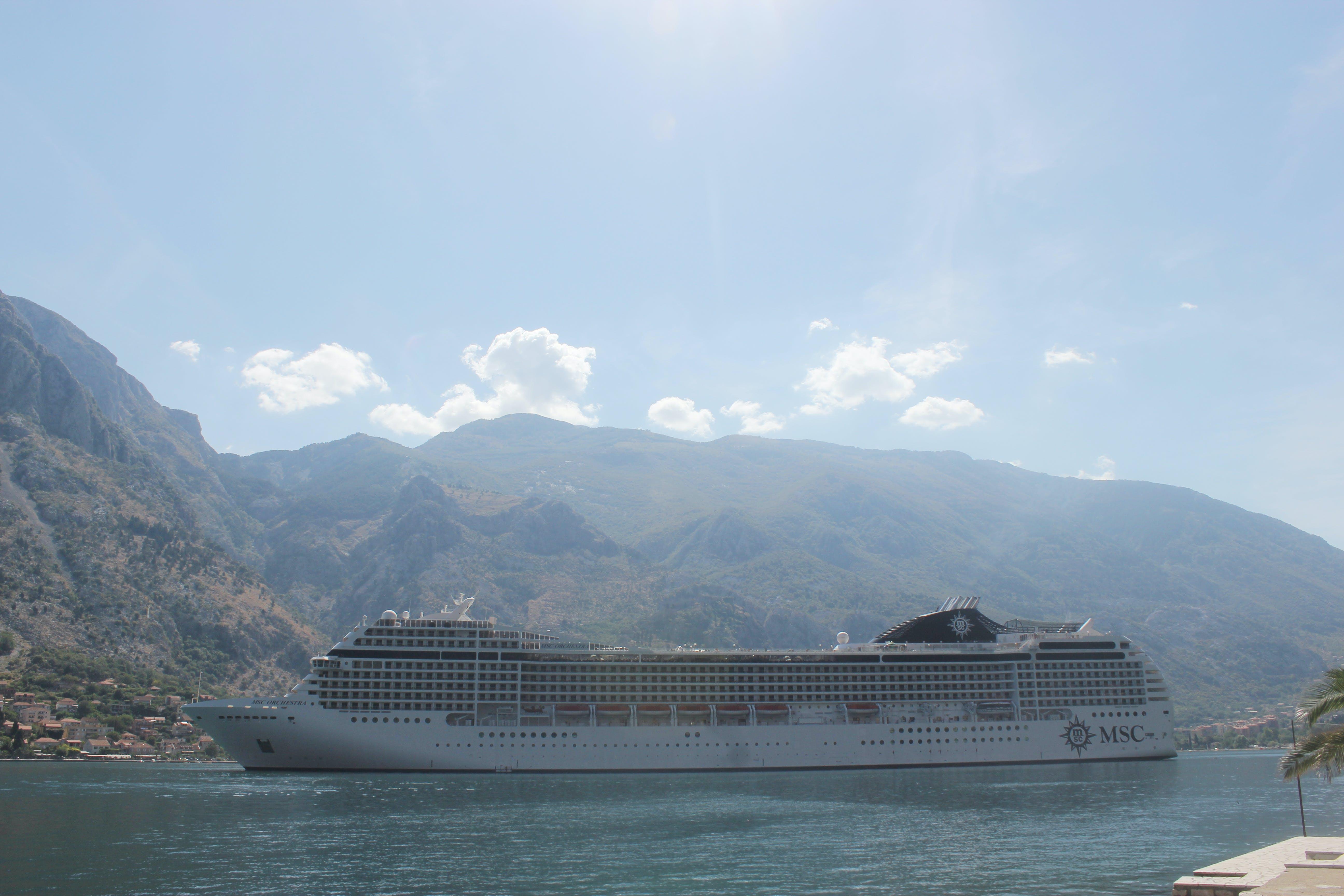 Free stock photo of adriatic sea, cruiser, Kotor Bay, ship