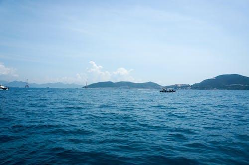 Gratis stockfoto met blauw, boot, h2o, zee