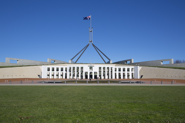 Kostenloses Stock Foto zu parliament house canberra australien