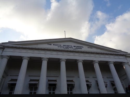 亚洲图书馆, 孟买, 對比, 流行 的 免费素材照片