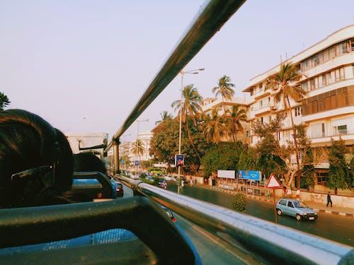 20世纪70年代, 公寓建築, 公車, 孟买 的 免费素材照片