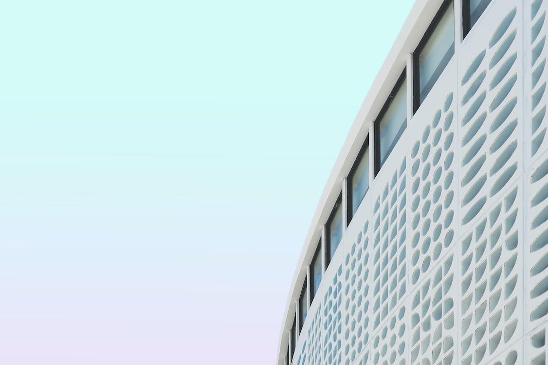 architektúra, budova, perspektíva