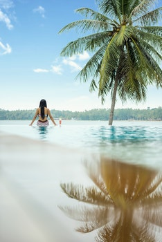 Free stock photo of person, woman, relaxation, water