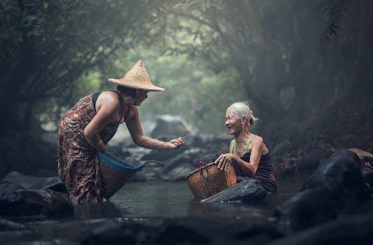 Kostenloses Stock Foto zu natur, menschen, wasser, frauen