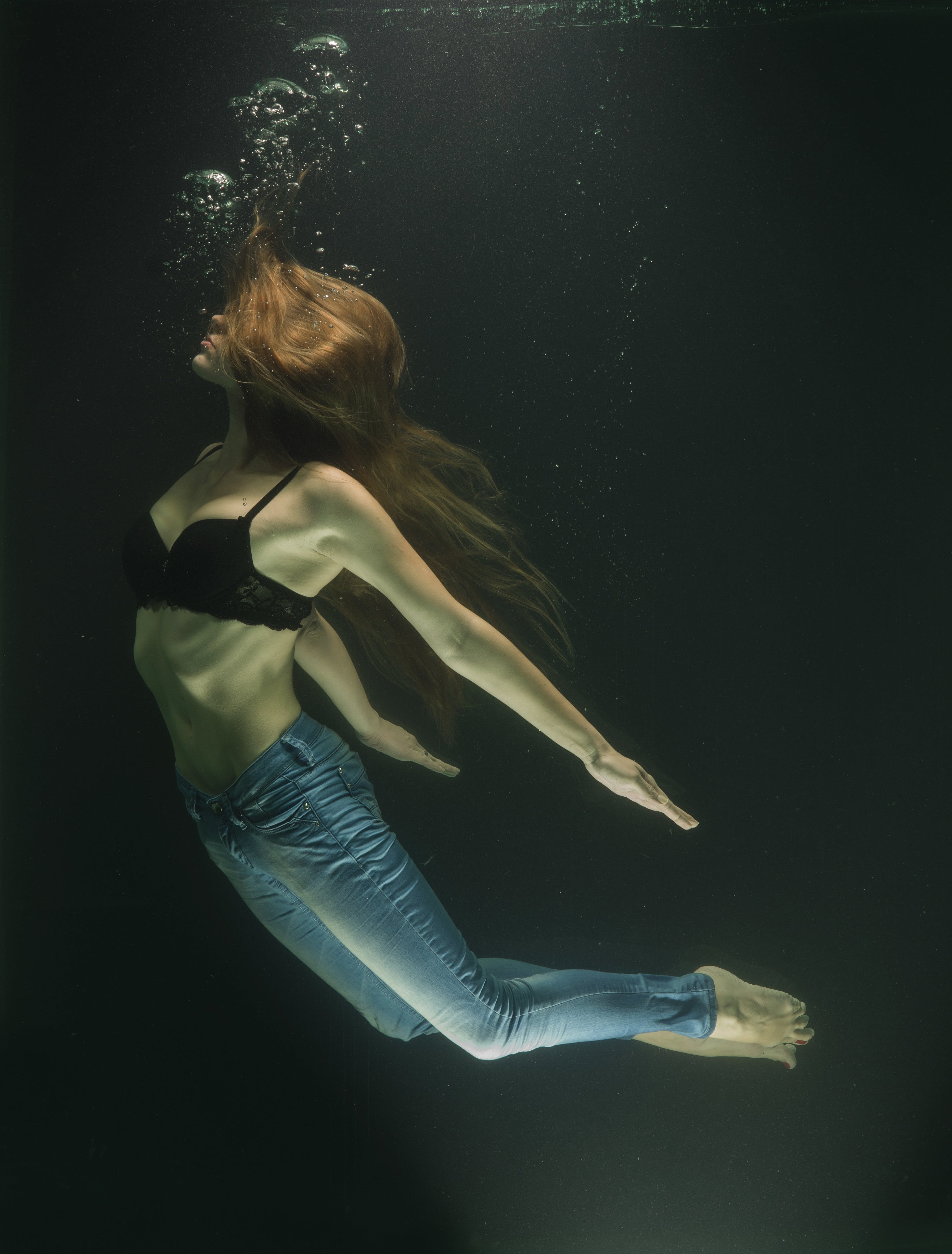 Free stock photo of fashion, art, water, model
