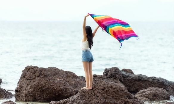 Free stock photo of sea, nature, beach, bikini