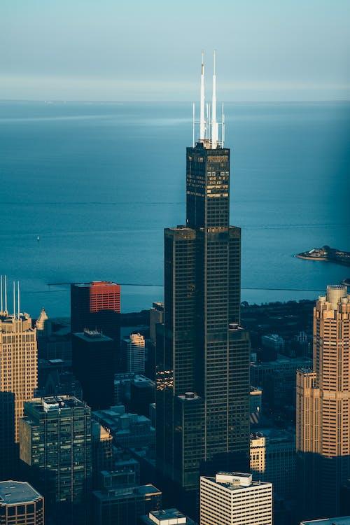 Ingyenes stockfotó belváros, Chicago, építészet, épület témában