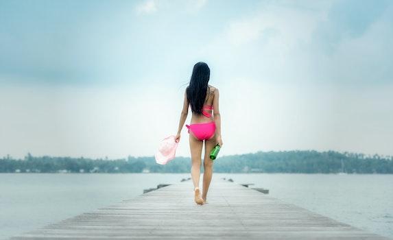 Free stock photo of sea, landscape, sunny, person