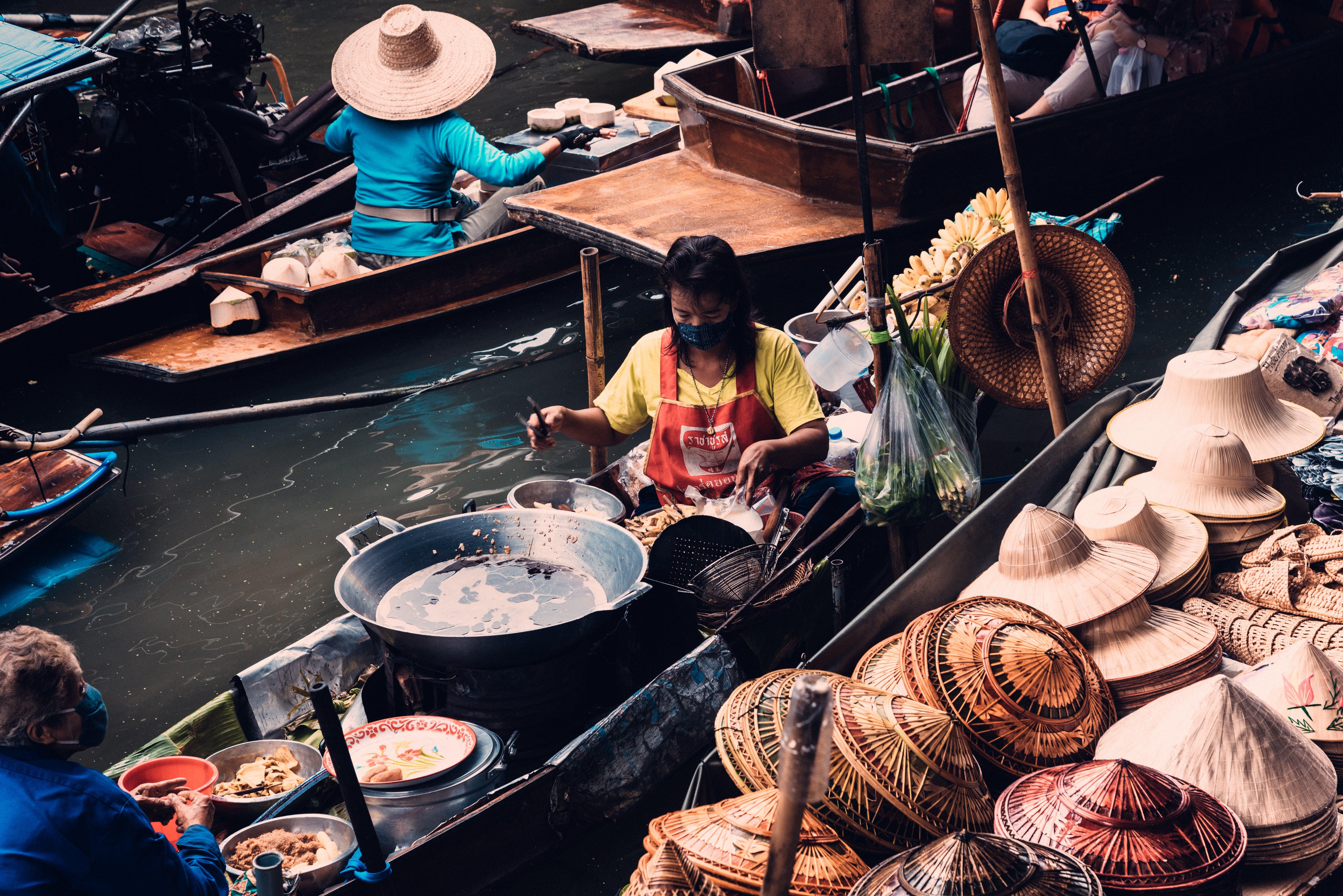 Foto stok gratis Bangkok, berbelanja, booth, dewasa