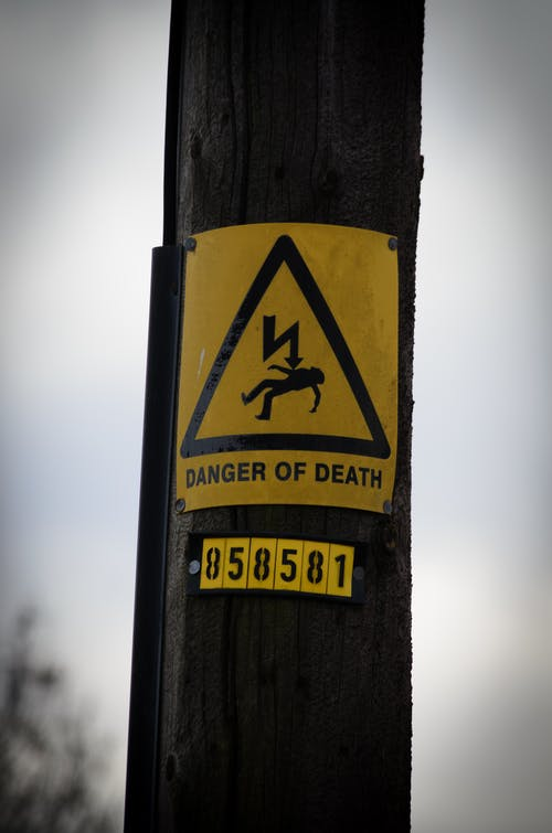 Free stock photo of danger, electric