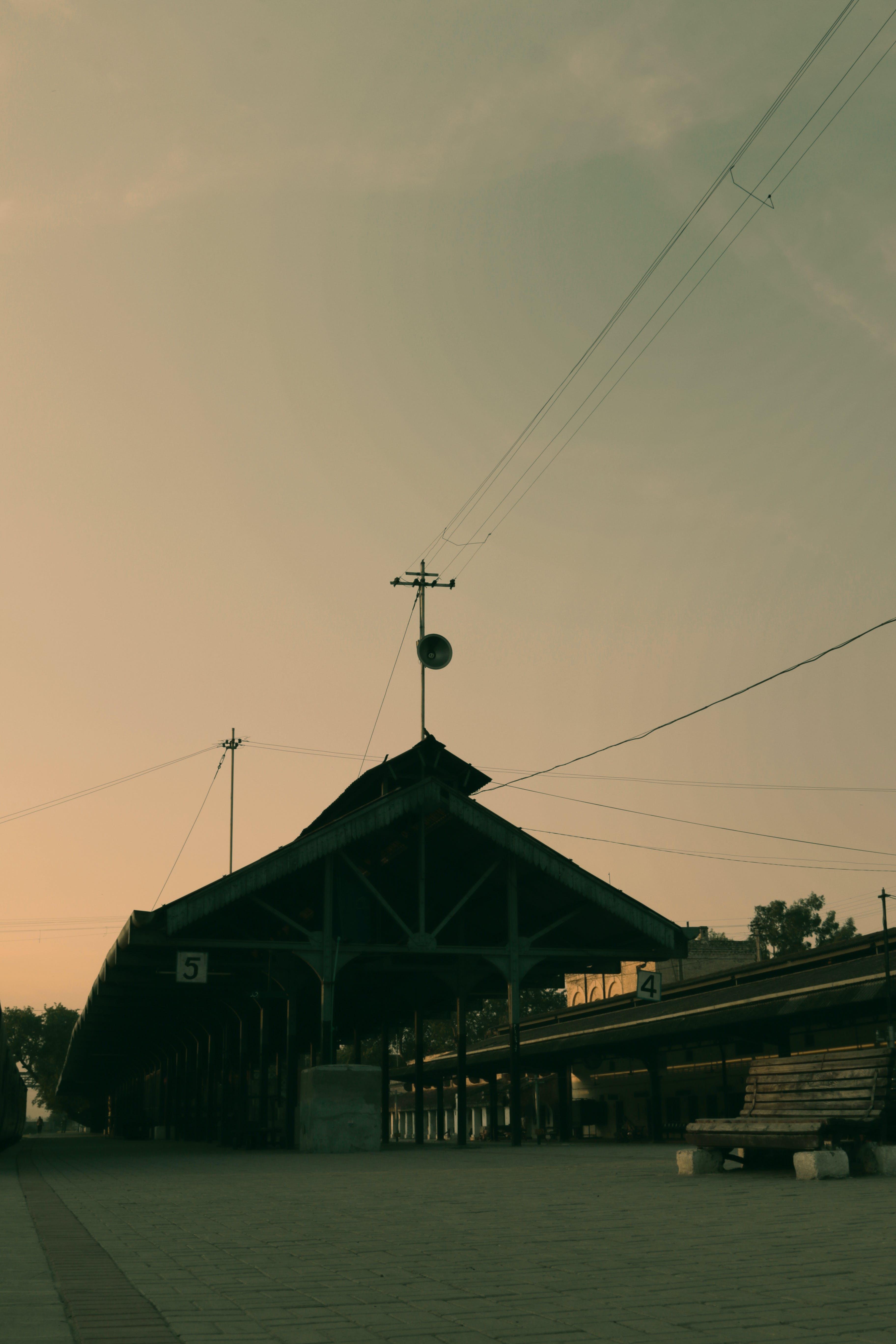 Free stock photo of railway station, railway station fort, wazirabad railway station