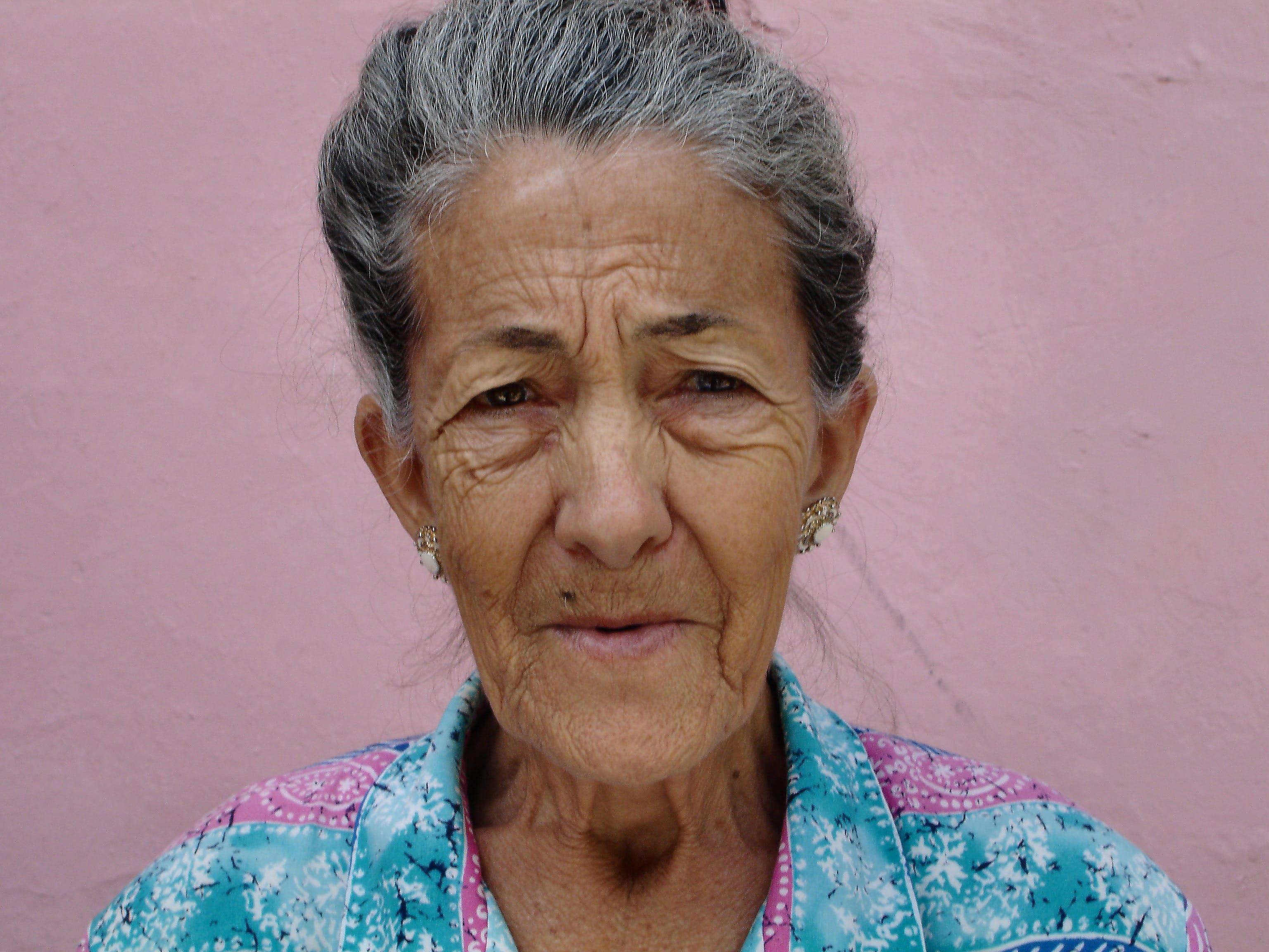 Free stock photo of woman, portrait, old, cuba