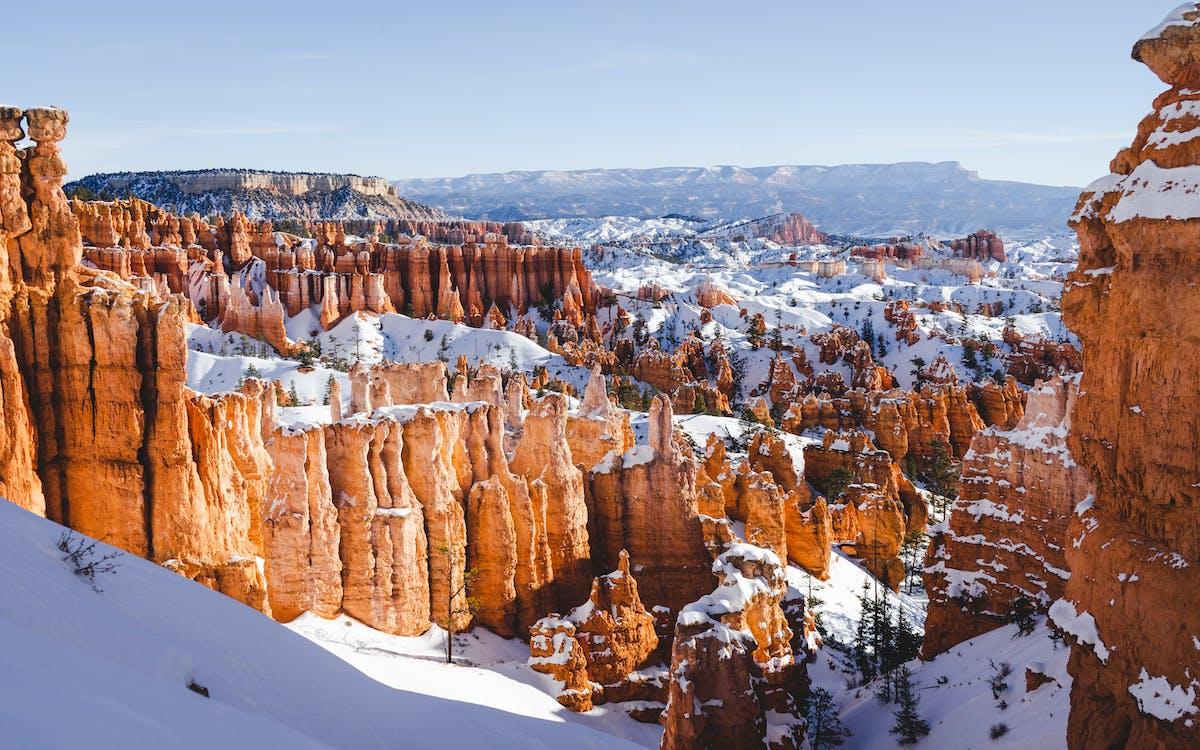 Bryce canyon, eventyr, kløft