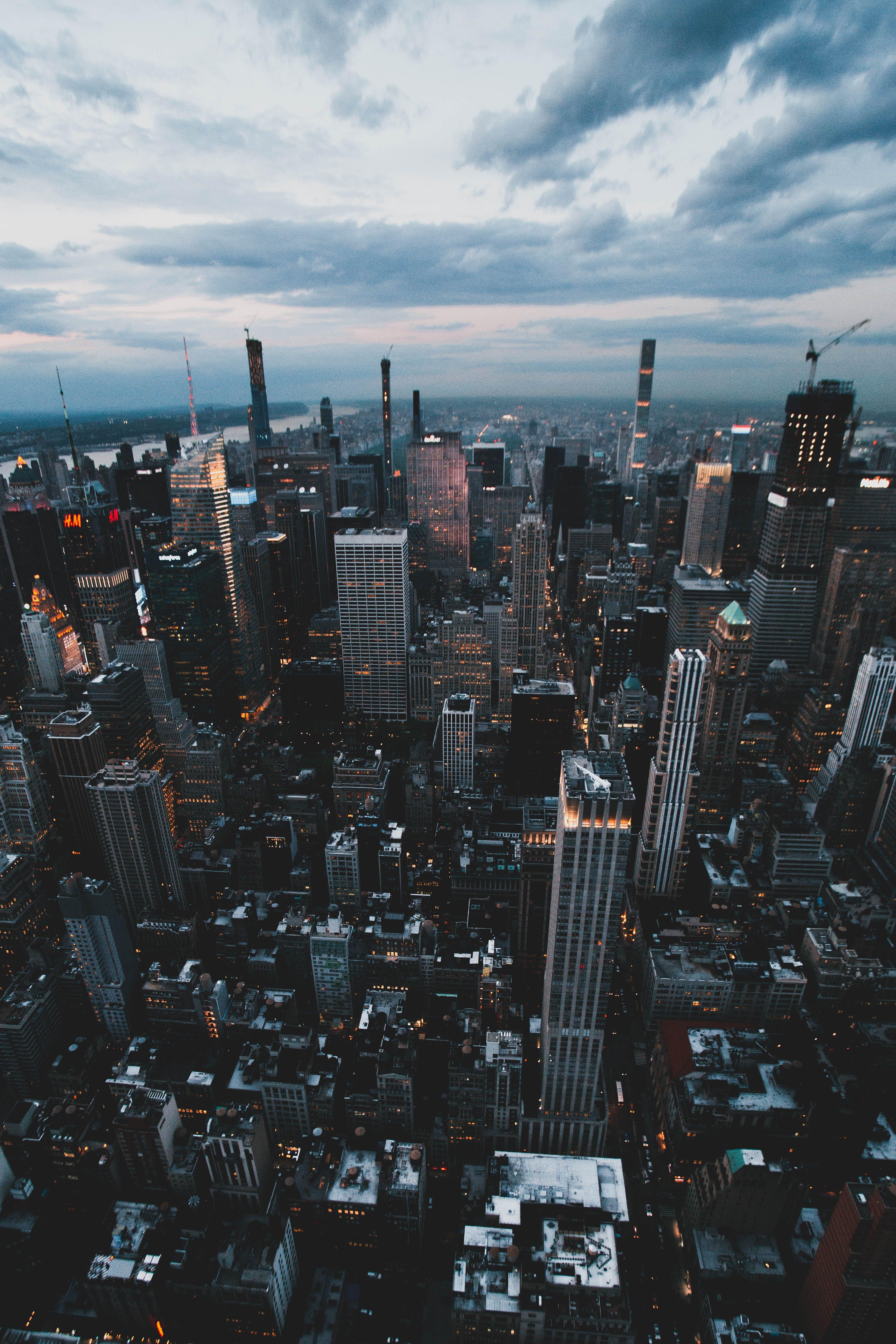 가벼운, 가장 높은, 건축, 금융의 무료 스톡 사진